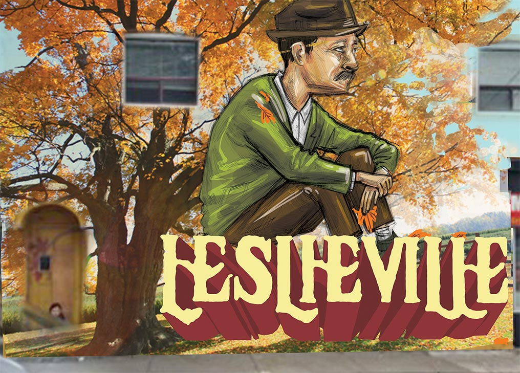 Proposed Leslieville Mural